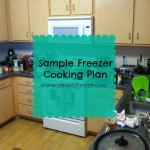Sample Freezer Cooking Plan