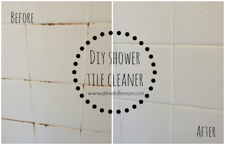 bathroom tile cleaner homemade diy shower tile cleaner 16721