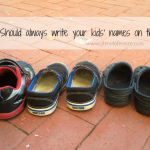 Why You Should Always Write Your Kids' Names on Their Shoes