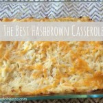 The Best Hashbrown Casserole