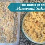 The Battle of the Macaroni Salads